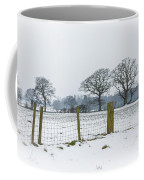 Standing In The Snow Coffee Mug