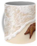 Starfish And Ocean Wave Coffee Mug