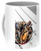 Stewed Fresh Mussels In Spicy Garlic Wine Seafood Sauce Coffee Mug