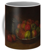 Still Life With Apples And A Pomegranate Coffee Mug