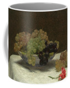 Still Life With Grapes And A Carnation Coffee Mug