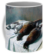 Still Life With Pheasants And Plovers Coffee Mug