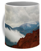 Storm Brewing At Garden Of The Gods Coffee Mug
