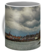 Storm Clouds Over The Bass River Coffee Mug