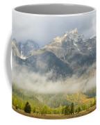 Storm On Grand Teton Coffee Mug
