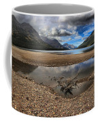 Storms Over Upper Waterton Lake Coffee Mug