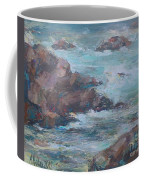 Stormy Sea Seascape Coffee Mug