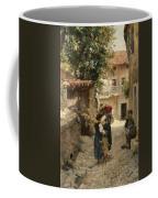 Street In Venetia Henry Woods Coffee Mug