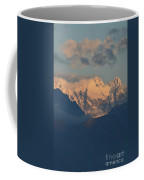Stunning Countryside Of Northern Italy With The Alps  Coffee Mug