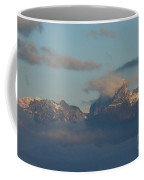 Stunning View The Dolomites Mountains In Italy Coffee Mug
