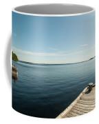 Sunny Day At The Dock Coffee Mug