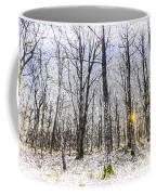 Sunrise Snow Forest Art Coffee Mug