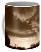 Sunset And Clouds Coffee Mug