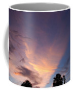Sunset At Pine Tree Coffee Mug
