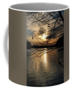 Sunset At The Lake Coffee Mug