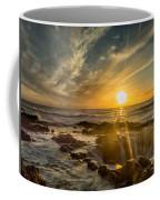 Sunset At Thor's Well Coffee Mug