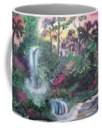 Sunset Falls Coffee Mug