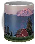 Sunset Reflection On Mt. Baker Coffee Mug