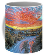 Sunset In El Prado Coffee Mug