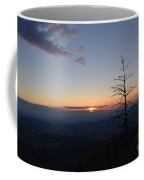 Sunset Over Kings Canyon In The Southwest Sierra Nevadas Coffee Mug