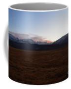 Sunset Over The Eastern Sierra Nevadas Coffee Mug
