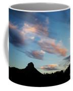 Sunset Over Thumb Butte Coffee Mug