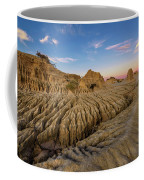 Sunset Over Walls Of China In Mungo National Park, Australia Coffee Mug