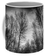 Sunset Trees Coffee Mug