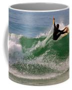 Surfer Coffee Mug by Carlos Caetano