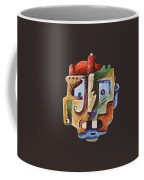 Surrealism Head Coffee Mug