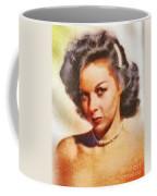 Susan Hayward, Vintage Hollywood Actress Coffee Mug