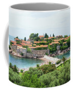Sveti Stefan, Montenegro Coffee Mug