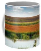 Swamp With Birds Landscape Autumn Season Coffee Mug