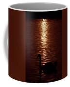 Swan Silhouette Coffee Mug