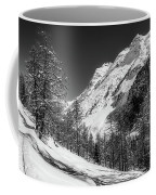 Swiss Winter Mountains Coffee Mug