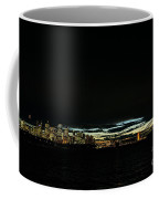 Sydney City Harbour Sunset Skyline In Australia  Coffee Mug