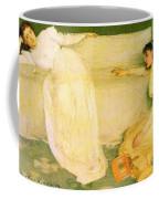 Symphony In White No 3 James Abbott Mcneill Whistler Coffee Mug
