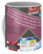 Tarceva Nsclc, Side Effects, Medicine, Cost, Medication, Drug Coffee Mug