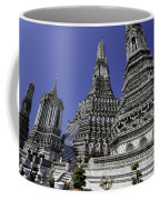 Temple Detail In Bangkok Thialand Coffee Mug