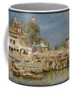 Temples And Bathing Ghat Coffee Mug