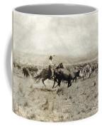 Texas: Cowboy, C1908 Coffee Mug
