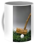 Texas Golf Putter. Coffee Mug