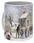 Thanksgiving, 1882 Coffee Mug