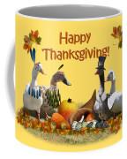 Thanksgiving Ducks Coffee Mug