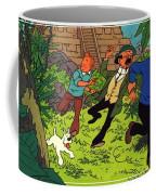 The Adventures Of Tintin Coffee Mug