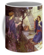 The Annunciation Coffee Mug by John William Waterhouse