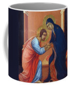 The Arrival Of The Apostles To The Virgin Fragment 1311  Coffee Mug