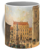 The Austria Fountain On The Freyung In Vienna With Rich Figural Coffee Mug