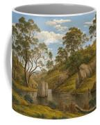 The Bath Of Diana. Van Diemen's Land Coffee Mug
