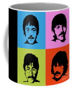 The Beatles Colors Coffee Mug